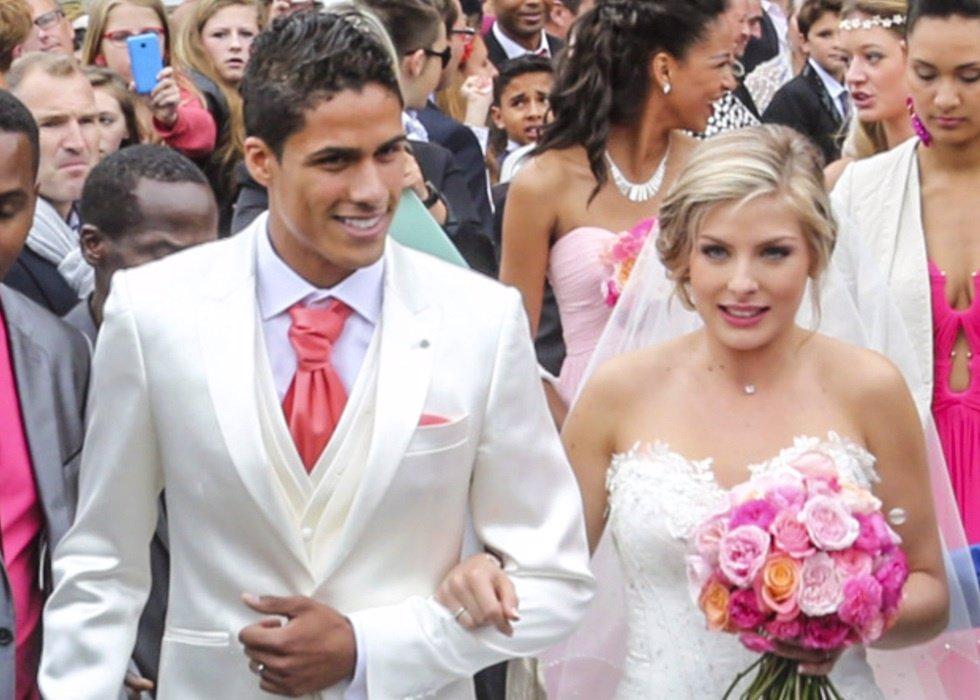 Varane ingin mencari tantangan dak tak mau terlalu nyaman di real madrid. Raphaël Varane y Camille Tygat, su boda más 'merengue'