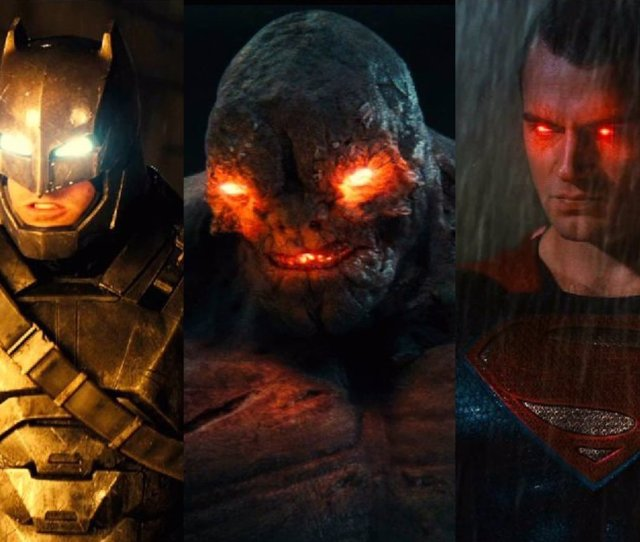 Por Que Aparece Doomsday En Batman V Superman