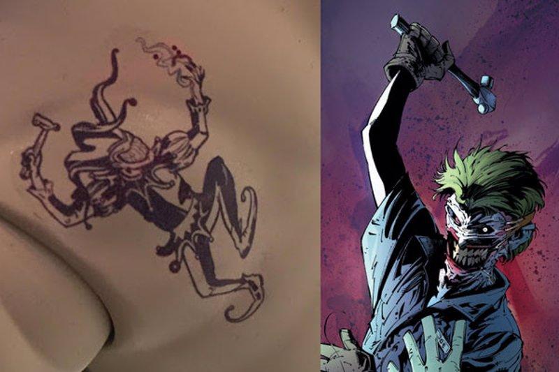 Escuadrón Suicida Descifrados Los 16 Tatuajes Del Joker De Jared Leto