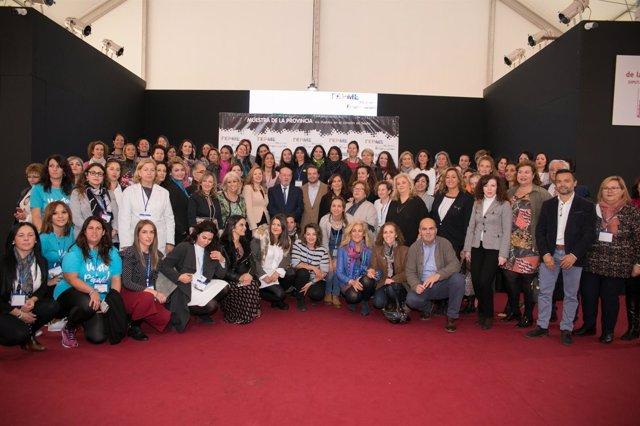 Resultado de imagen de Feria Provincial de Mujeres Empresarias de Sevilla
