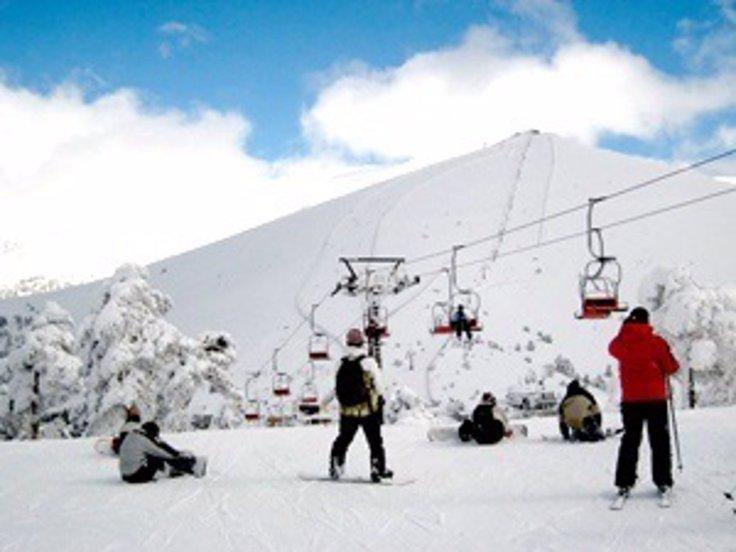 Resultado de imagen para imagenes estacion de esqui navacerrada