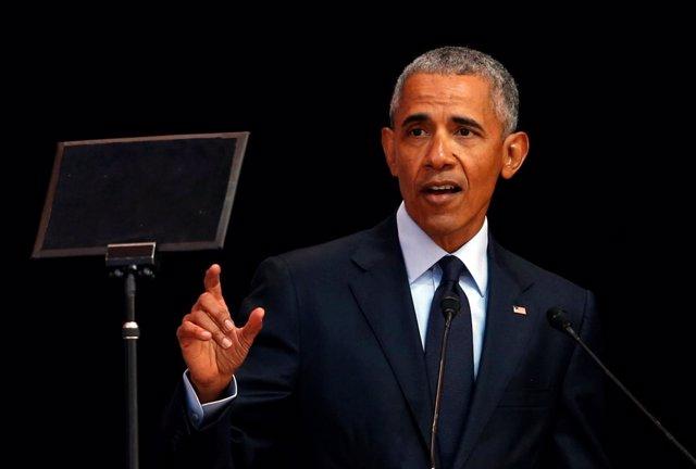El ex presidente de Estados Unidos Barack Obama