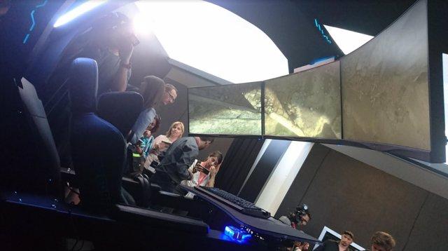 Acer revela en IFA una silla gamer con soporte para tres
