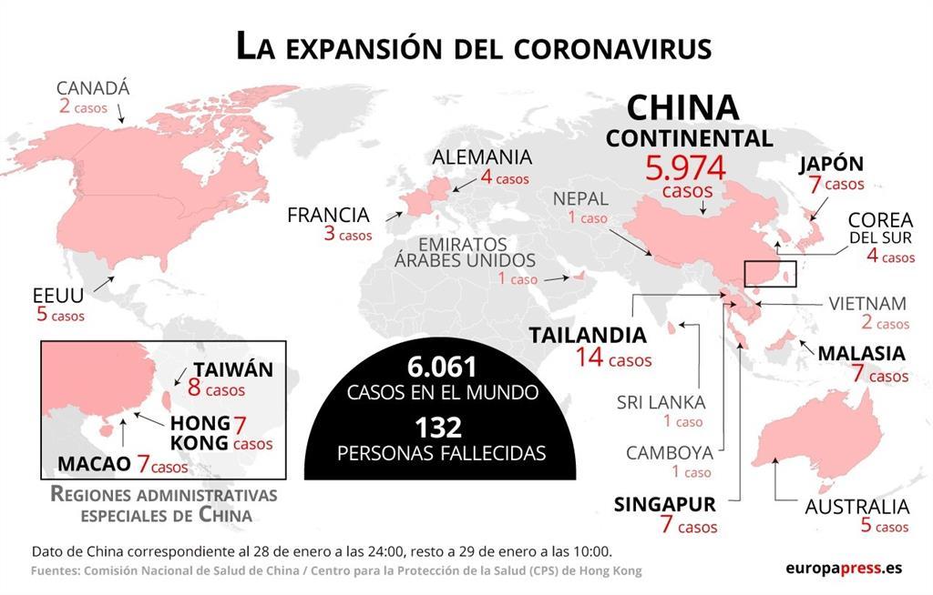 Finlandia confirma su primer caso del nuevo coronavirus chino