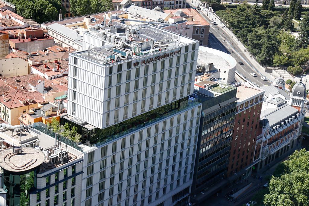 El hotel VP Plaza España Design de Madrid reabrirá el próximo 30 de abril