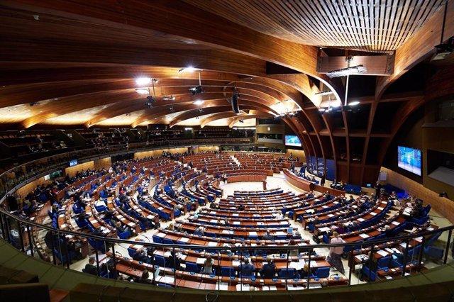 Archivo - Fotografía de archivo de la Asamblea Parlamentaria del Consejo de Europa.