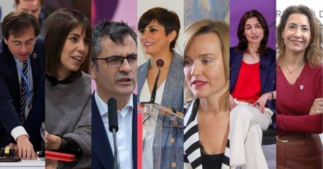 Los nuevos ministros y ministras que se incorporan al Gobierno