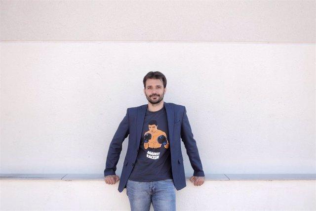 El secretario de Educación de la dirección estatal de Podemos, Javier Sánchez Serna