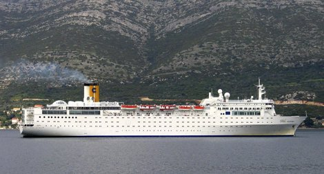 El Costa Allegra, Barco De La Naviera Costa Cruceros