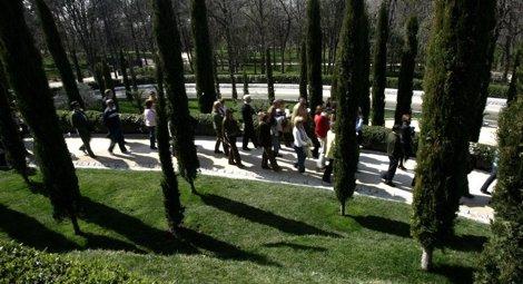 Homenaje a las víctimas 11 M en el Bosque de los ausentes