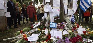 Foto: Segundo día de movilizaciones en Grecia tras el suicidio de un jubilado  (REUTERS)