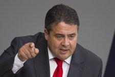 Sigmar Gabriel, presidente del Partido Socialdemócrata de Alemania