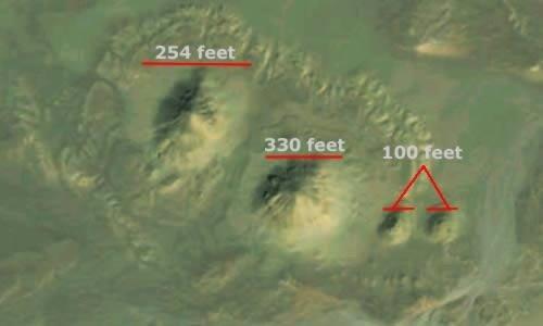 Descubren dos nuevas pirámides en Egipto a través de Google Earth