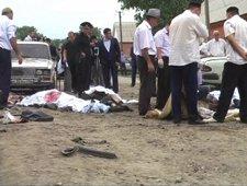 Un terrorista suicida se inmolase durante el funeral de un policía en Rusia