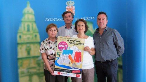 Presentación quinta Feria Outlet Murcia
