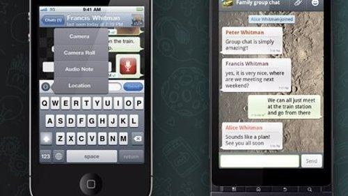 Móviles con Whatsapp
