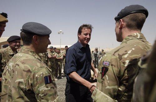 David Cameron En Afganistán