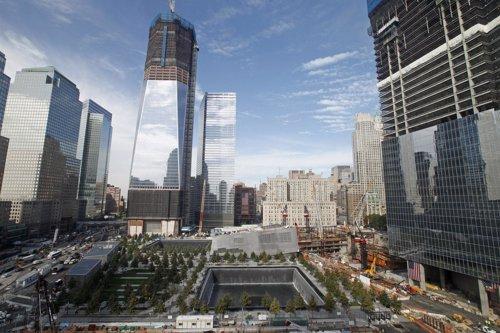 Panorámica Del World Trade Center De Nueva York