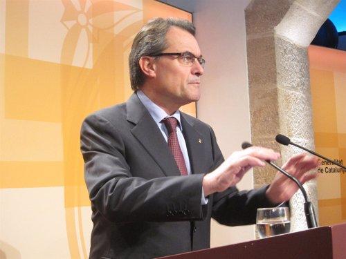 Artur Mas anuncia la cración de la cumbre anticorrupción