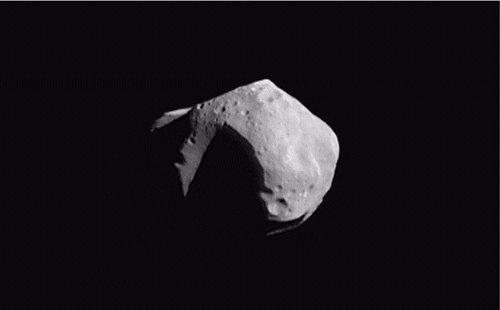 primer asteroide español visto desde La Sagra en Granada