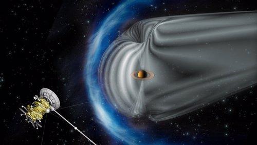 Cassini revela la aceleracion de partículas cosmicas