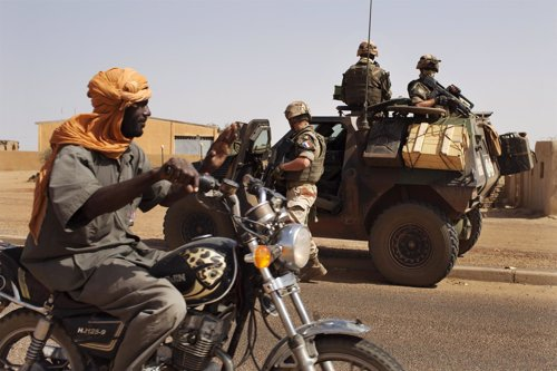Soldados franceses en Malí