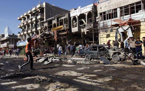 Serie de ataques con coches bomba en Irak