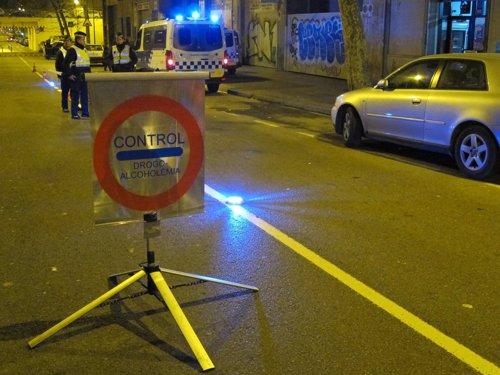 Control alcoholemia Guardia Urbana