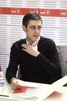 Eduardo Madina, secretario general del Grupo Socialista del Congreso