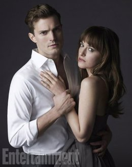 50 Sombras De Grey. James Dornan Y Dakota Johnson Caracterizados
