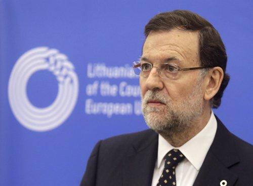 Rajoy en la cumbre de Lituania