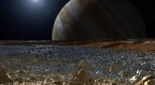 Europa, Luna De Júpiter