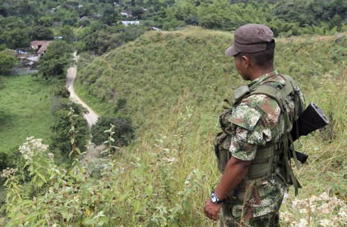 Miembro de las FARC.