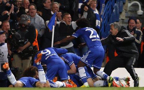 El Chelsea se mete en semifinales de Champions