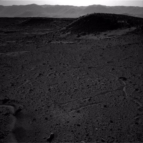 Puntos brillantes en Marte