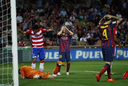 El Barcelona cae en Granada