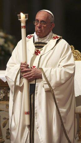 El Papa Francisco en la Vigilia Pascual del sábado