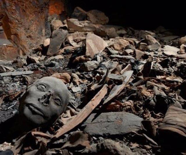 Momias encontradas en Luxor