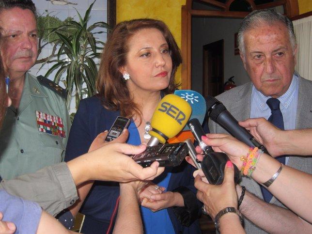 La delegada del Gobierno en Andalucía, Carmen Crespo.