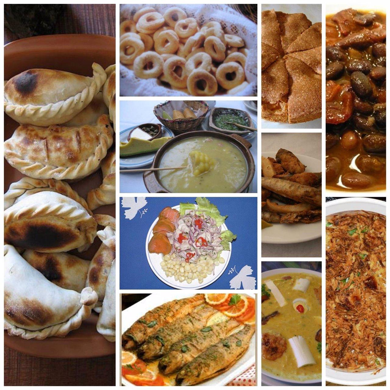 Los platos tpicos en la Semana Santa de Iberoamrica