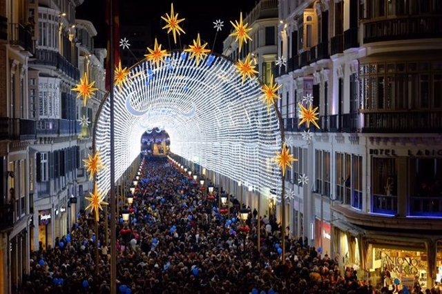 Málaga es un excelente destino para las vacaciones de Navidad