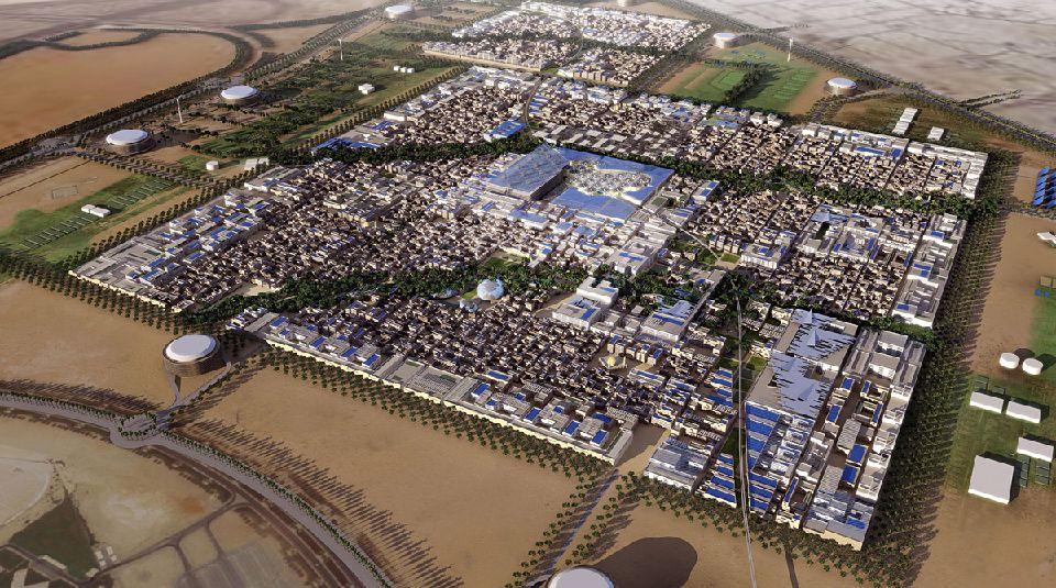 Le projet futuriste de Masdar aux Emirats Arabes Unis