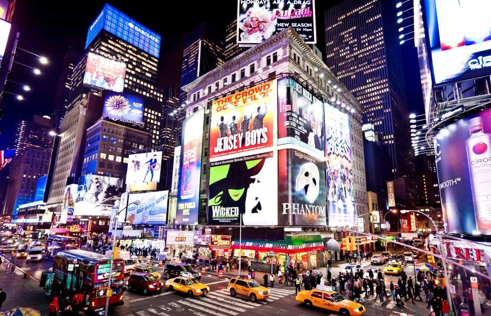 Times Square en la víspera de Año Nuevo