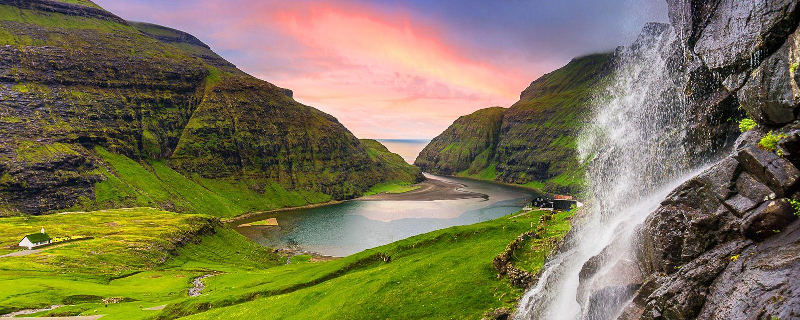 Senderismo en la isla de Streymoy  Islas Feroe