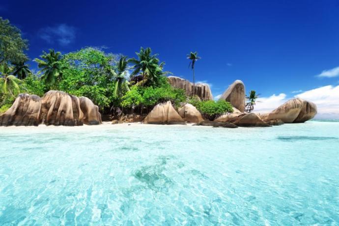 as praias mais bonitas do mundo Anse Source d'Argent