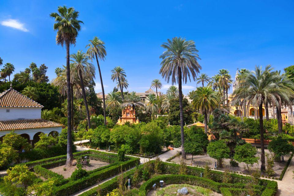 Il Palazzo dellAlcazar a Siviglia  Andalusia  Spagna