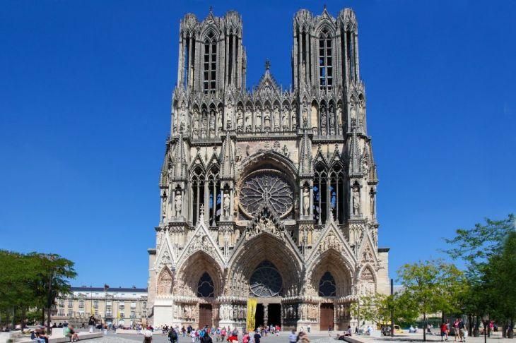 Cathédrale Notre Dame de Reims - Champagne-Ardenne - Francia