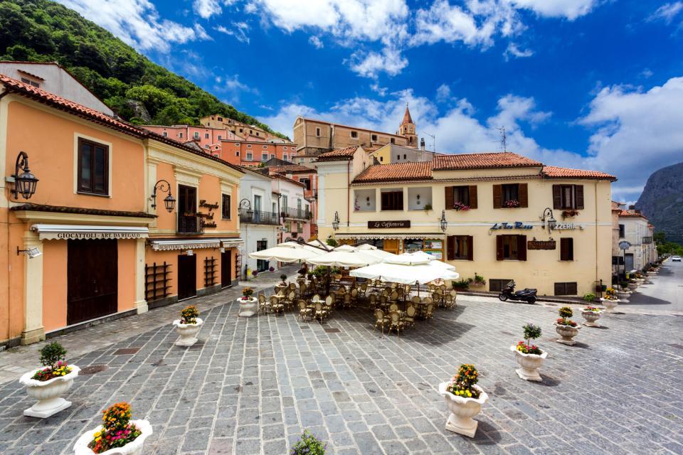 Maratea  Centro storico  Basilicata  Italia