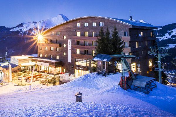 Das hotel le concorde im skigebiet les portes du soleil befindet sich 400 m vom zentrum von morzine und den skipisten entfernt. Hotel Club Belambra Le Viking Morzine