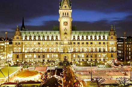 Roncalli Weihnachtsmarkt Hamburg  Die schnsten Weihnachtsmrkte Deutschlands
